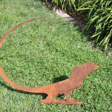Aussie Steel Garden Lizard