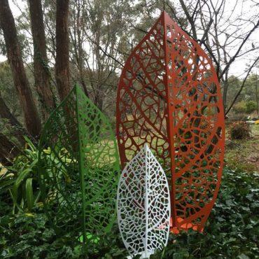 Aussie Garden Leaves Sculpture