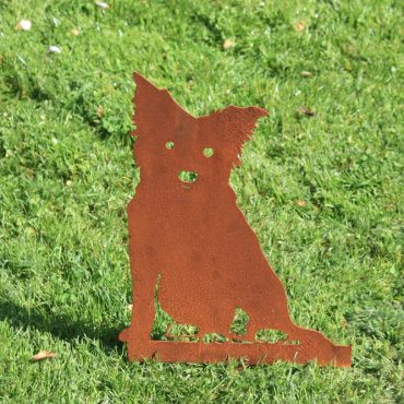 Aussie Steel Garden Dog