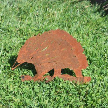 Aussie Steel Garden Animal - Echidna