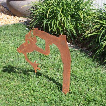 Aussie Steel Garden Frog