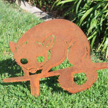 Aussie Steel Garden Possum
