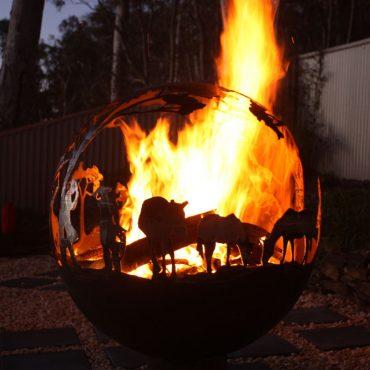 Aussie fire balls