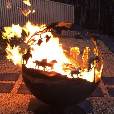 Round-Up Design - Aussie Garden FireBall