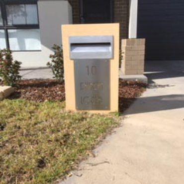 Designer Letter Box Australia