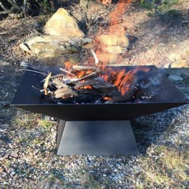 Custom Square Fire Pit Australia