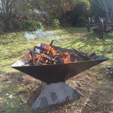 Triangle Shaped Fire Pit Australia