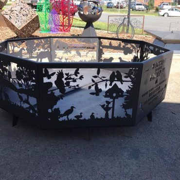 Welcome to Our Firepit - Birds