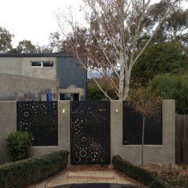Laser-cut Metal Gate Australia