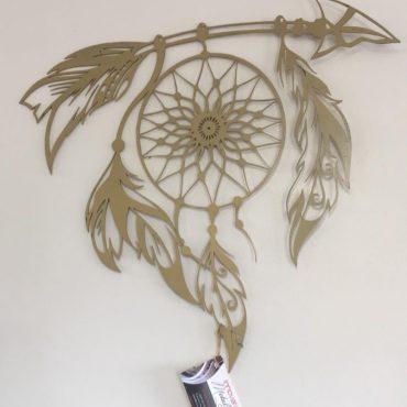 Laser Cut Decorative Metal Sculpture