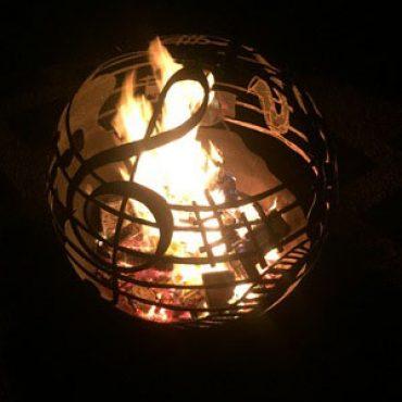 Music Ball - Steel Fireball Australia