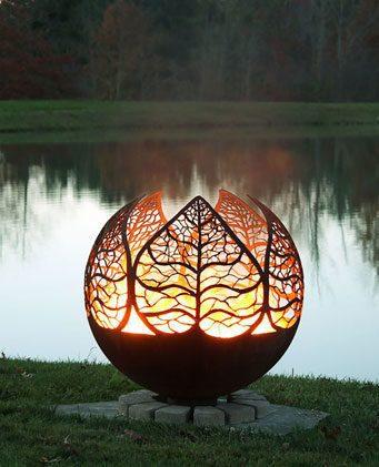 Designer Fire Balls Corten Steel Suppliers Australia